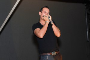 Dave Ferguson entertaining guests at the Movember launch in Johannesburg copy