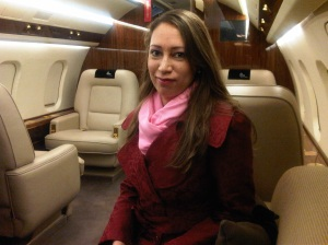 Me in my future PP (Private Plane)