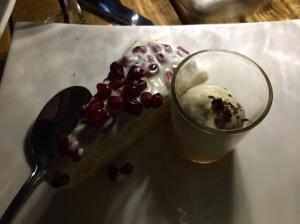 Dessert - Pistachio and yoghurt cake