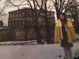 Me at Detmold Castle, Germany in 1995