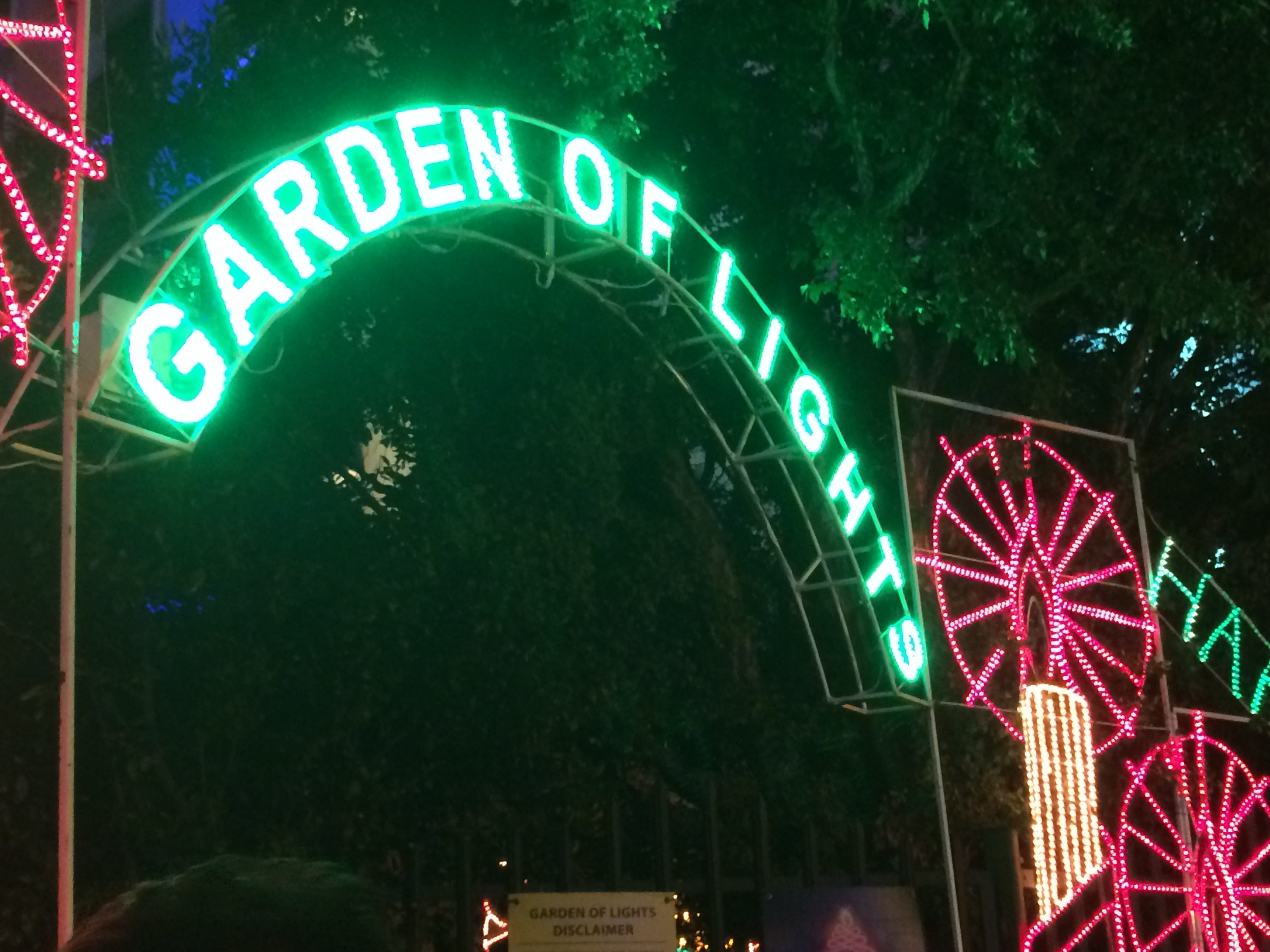 Garden Of Lights At Emperors Palace Mzansi Life Style